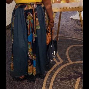 Dresses & Skirts - African print skirt